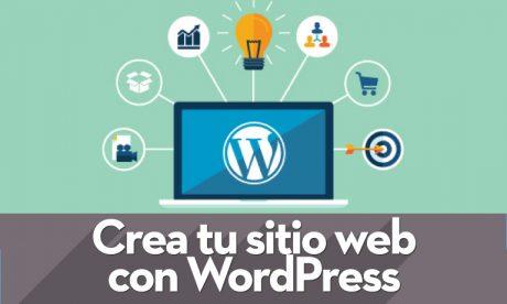 curso online crea tu web en wordpress