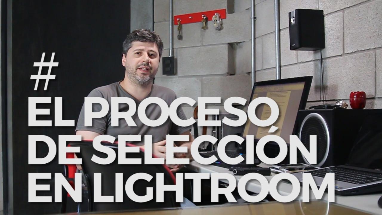 seleccion de fotos en lightroom