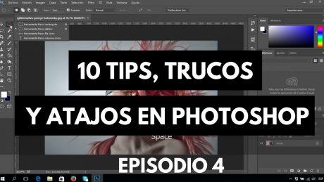10 tips, trucos y atajos para photoshop tutorial