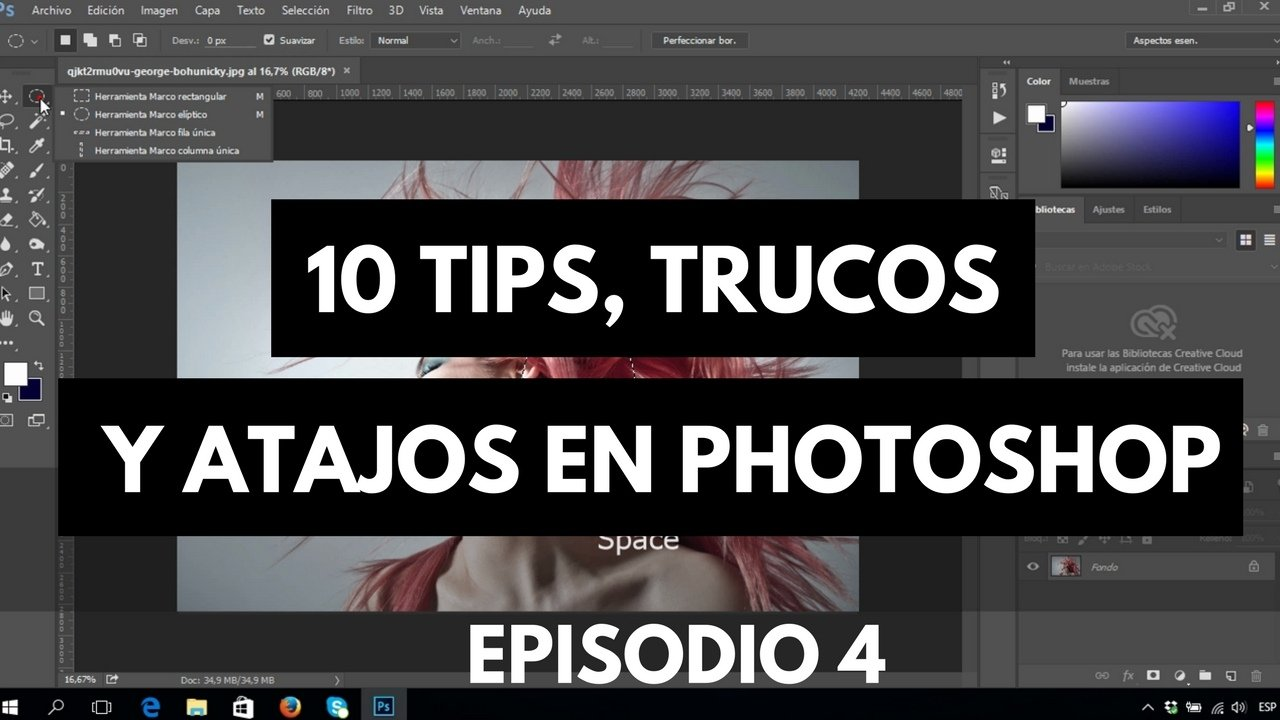 10 tips, trucos y atajos para photoshop tutorial