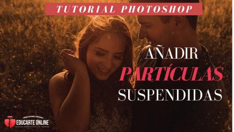 Particulas de polvo suspendidas - Tutorial Photoshop