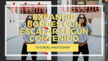 Expandir bordes en fotografías con escalar según contenido - Tutorial Photoshop