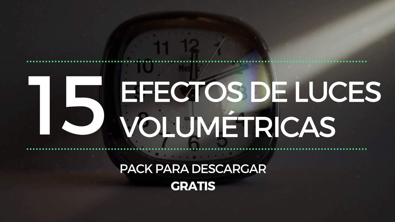 Pack Luces Volumétricas 4k - Canal Alfa descarga Gratuita