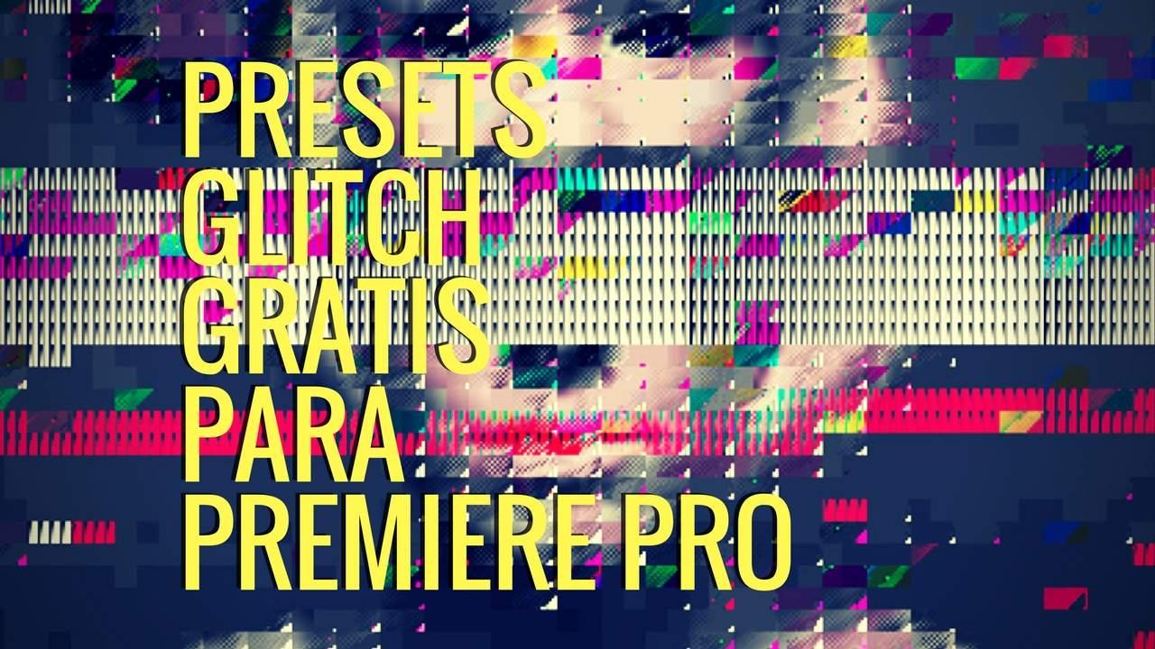 Transiciones Glitch presets gratis en Premiere Pro - Tutorial Premiere Pro