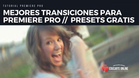 mejores transiciones para premiere pro presets gratis