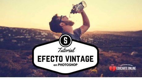 Efecto Vintage de manera simple en Photoshop