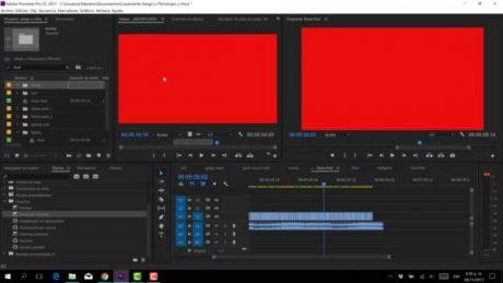error pantalla roja en premiere pro