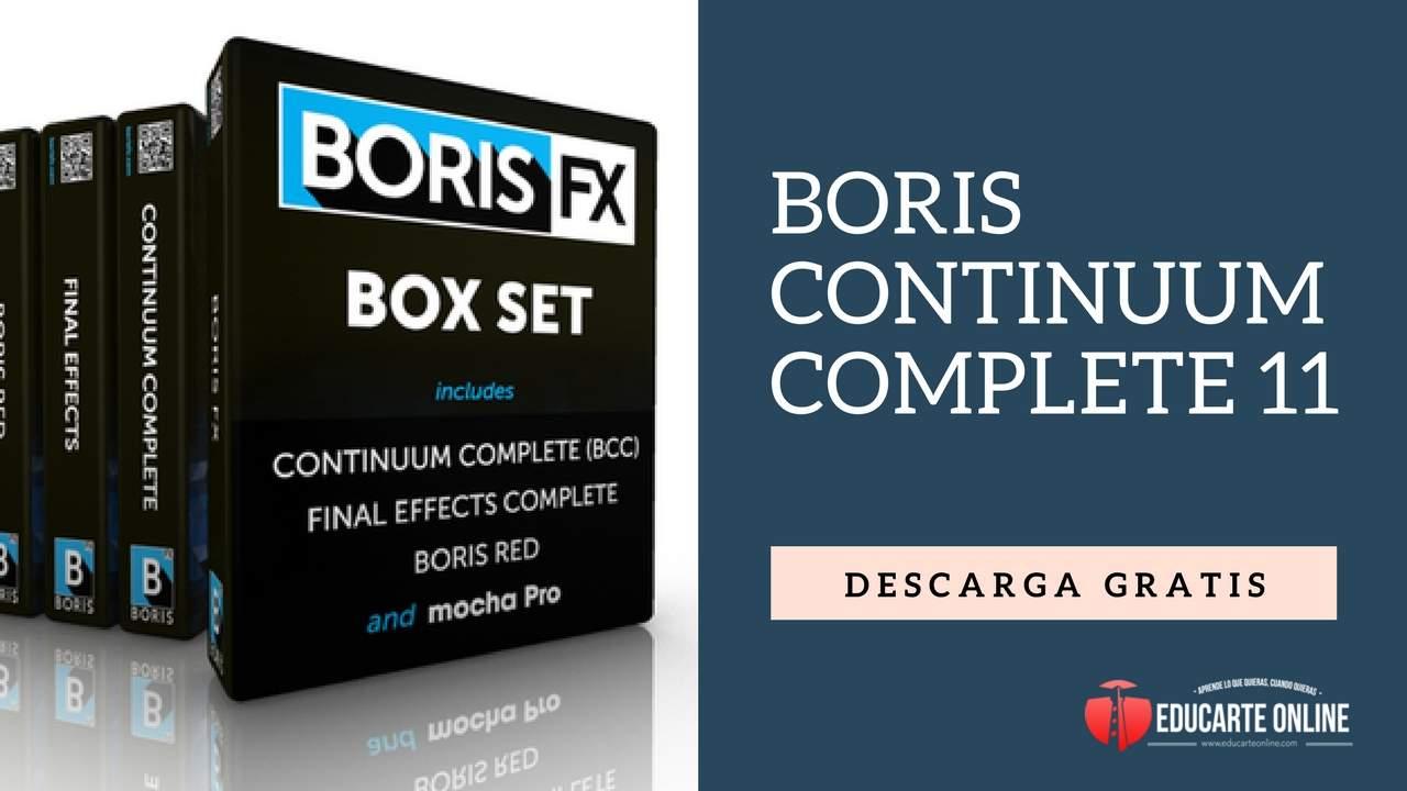 boris continuum complete descarga gratis