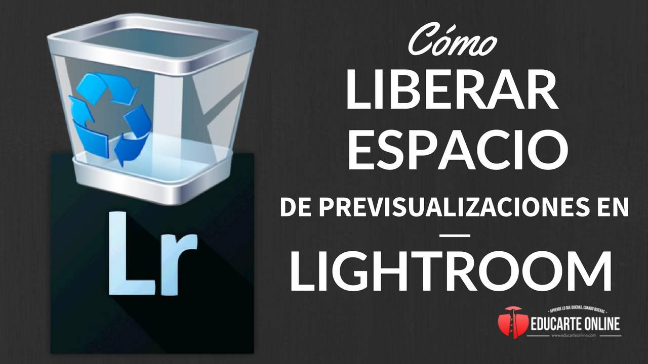 Acelera Lightroom al borrar vistas previas El por qué y el cómo!
