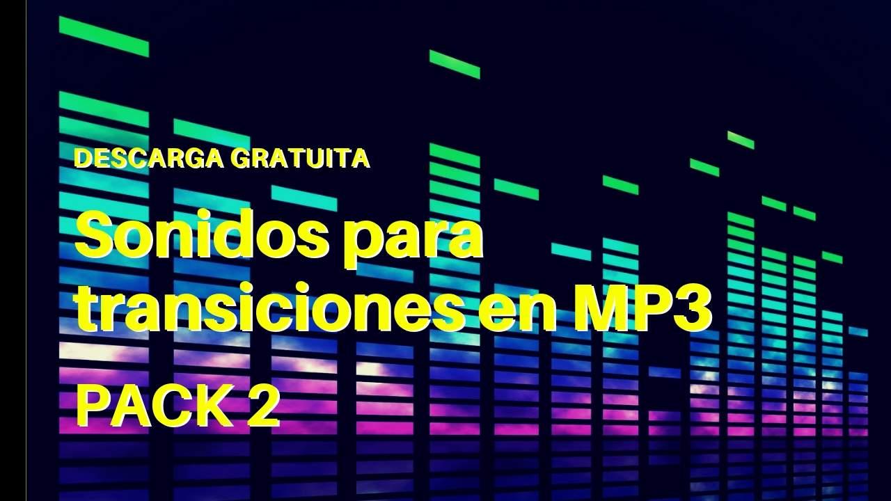 Sonidos para transiciones en MP3