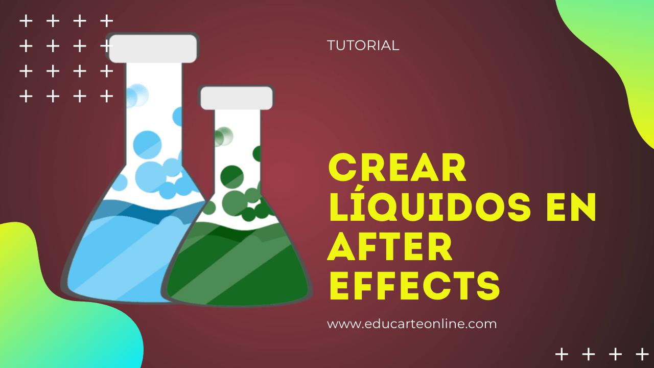 animar liquidos en after effects